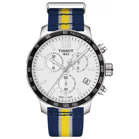 Tissot Quickster Chronograph NBA Indiana Pacers T095.417.17.037.23