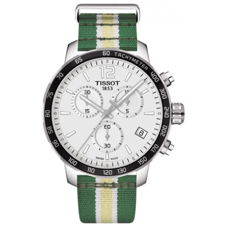 Tissot Quickster Chronograph NBA Indiana Pacers T095.417.17.037.24