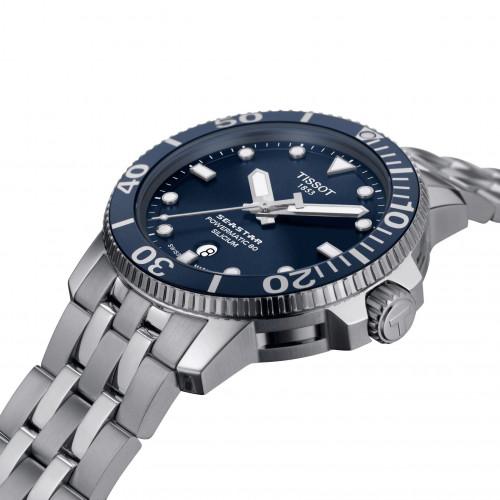 Часы Tissot Seastar 1000 Powermatic 80 Silicium T120.407.11.041.01