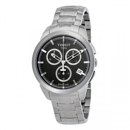 TissotTitanium Black Chronograph Dial Men's Watch T069.417.44.061.00