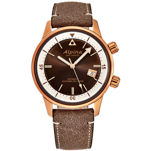 Часы Alpina Seastrong Diver Heritage AL525BRC4H4