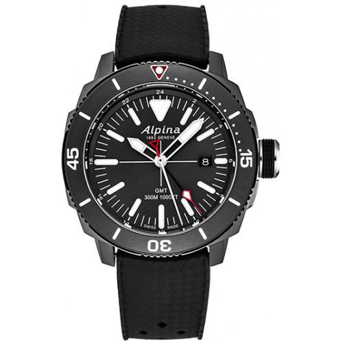 Часы Alpina Seastrong Diver GMT AL247LGG4TV6