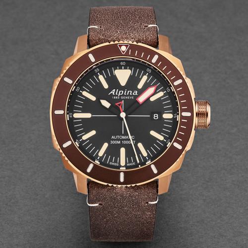 Часы Alpina Seastrong Diver AL525LBBR4V4