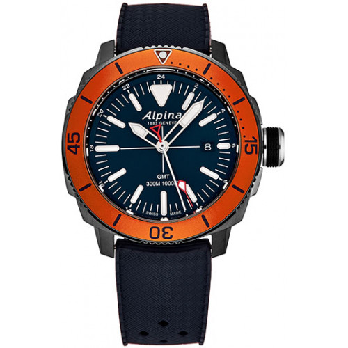 Часы Alpina Seastrong Diver 300 GMT AL247LNO4TV6